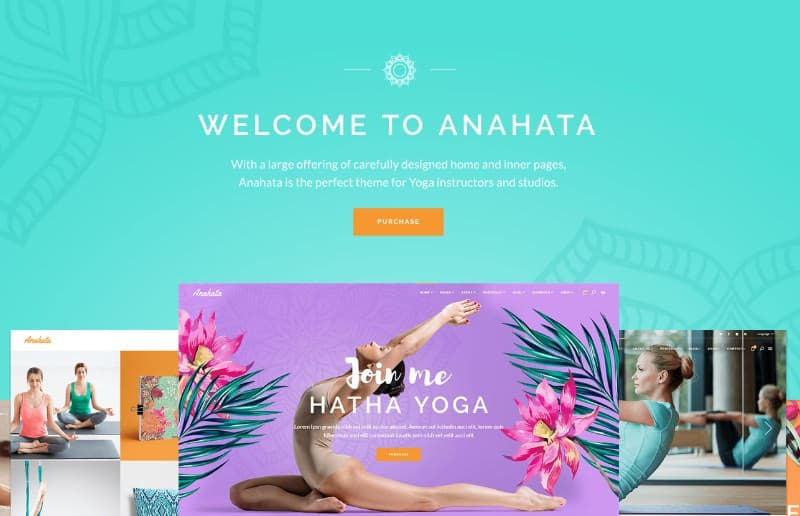Anahata WP Theme for yoga studios