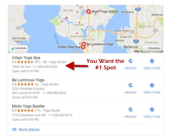 top-google-my-business-ranking-for-your-yoga-studio