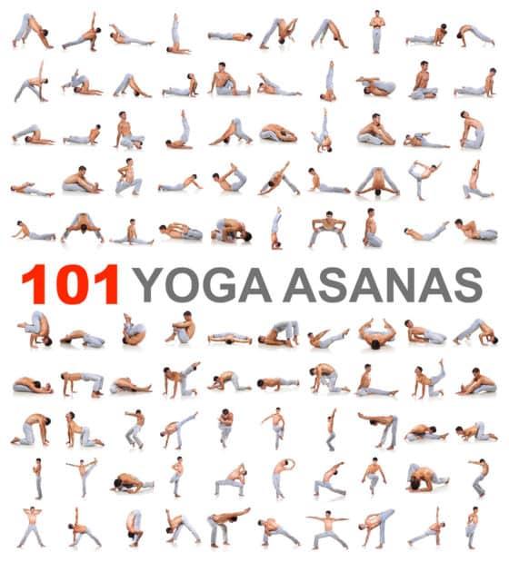 100 Yoga Poses Chart