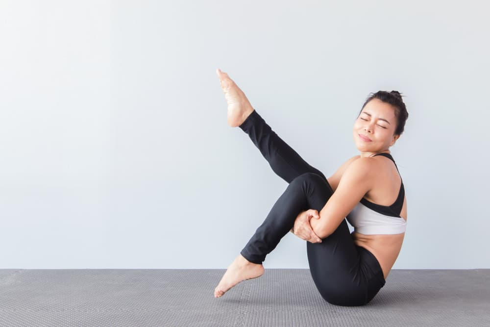 One legged boat pose - Ekapada Navasana