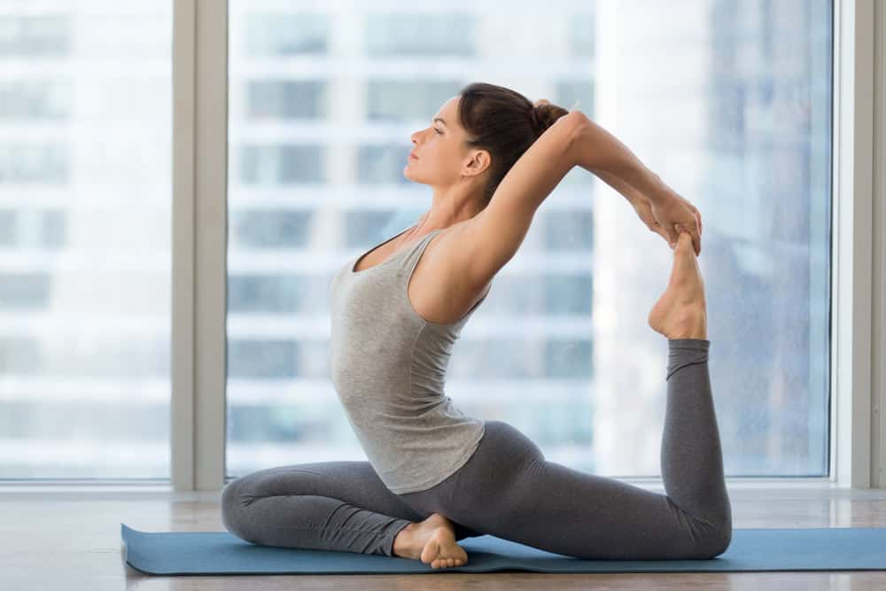 One-Legged King Pigeon Pose - Eka Pada Rajakapotasana I
