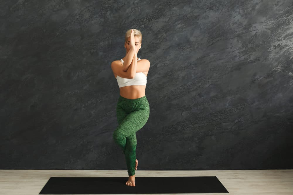 Eagle Pose - Garudasana