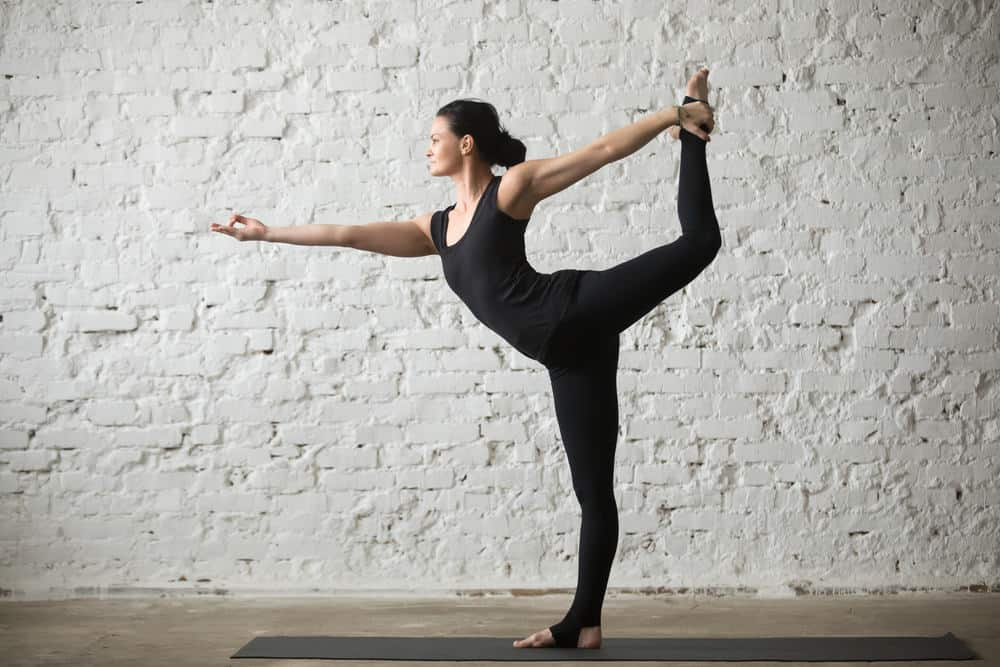 Lord of the dance pose - Natarajasana
