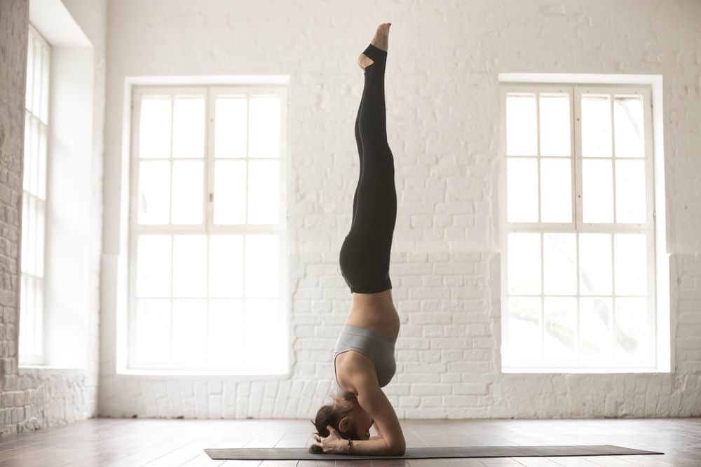 Supported headstand pose - Salamba Sirsasana