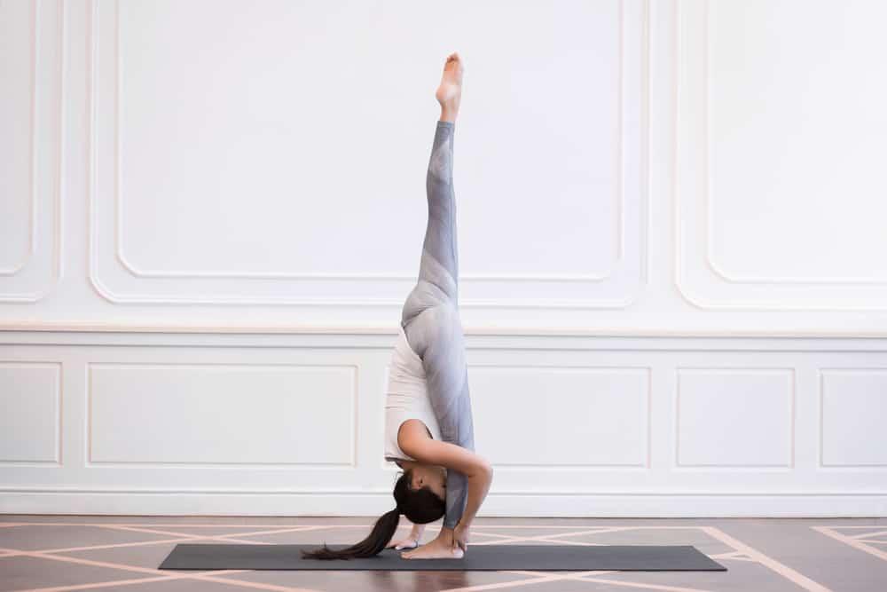 Standing split pose - Urdhva Prasarita Eka Padasana