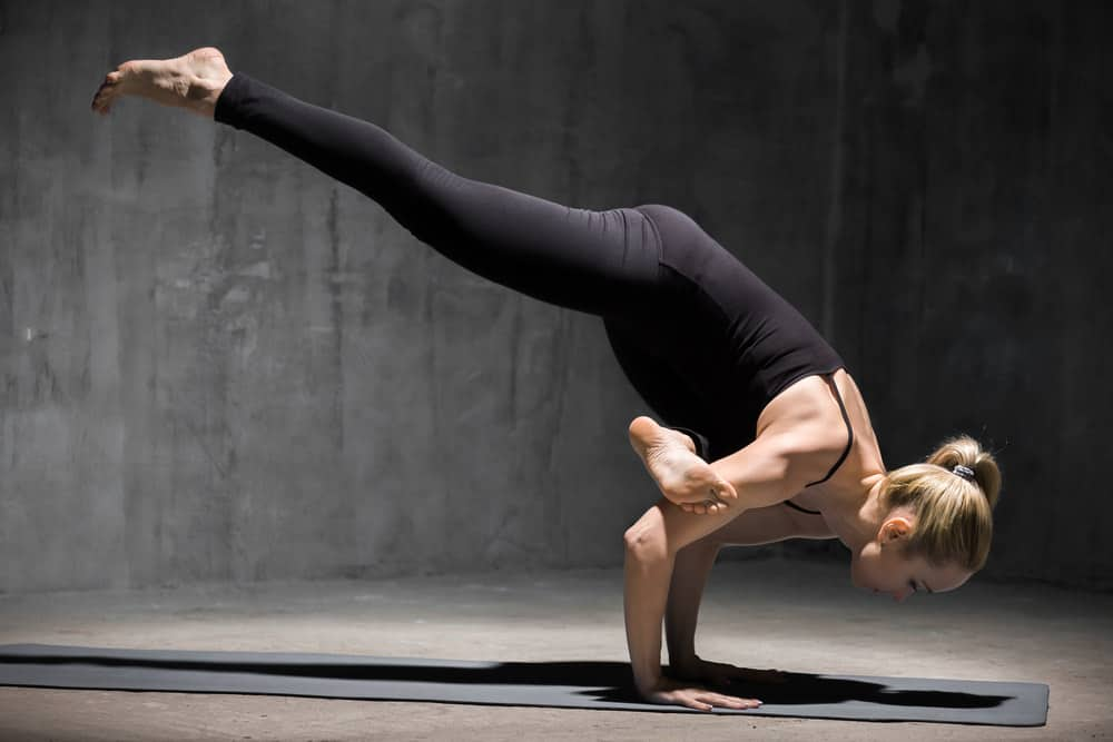 Flying Crow Pose - Eka Pada Galavasana