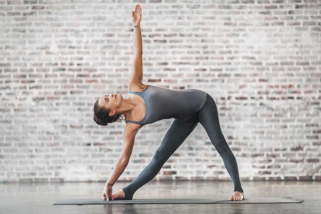 Triangle pose - Trikonasana