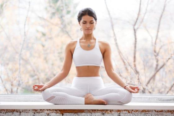 Meditation can bring inner peace