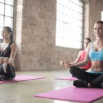 Relaxing Yoga Pose