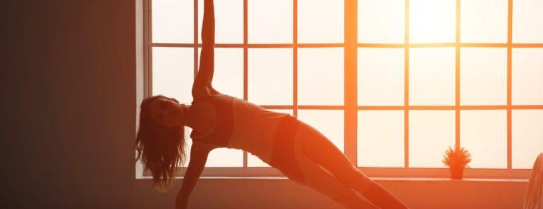 Peaceful Yoga Class