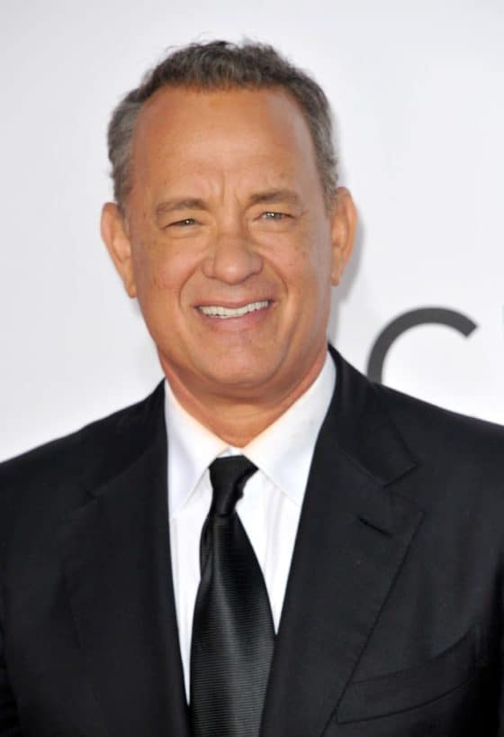 Grinning Face of Tom Hanks