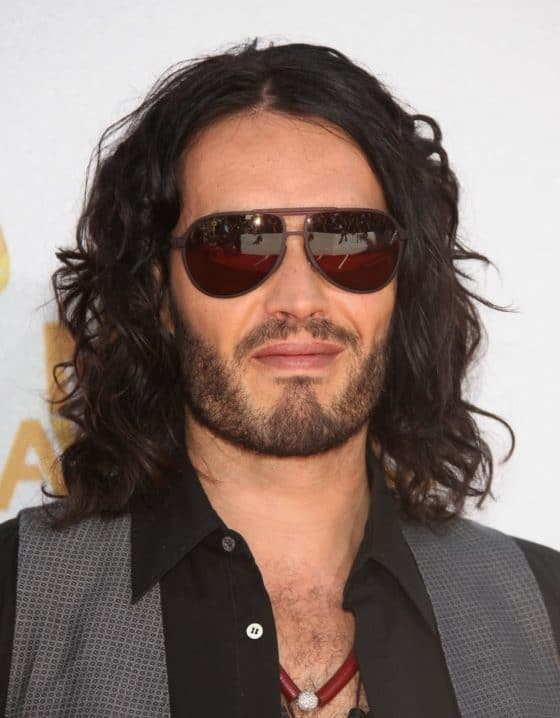 Russell Brand with Sunglasses On