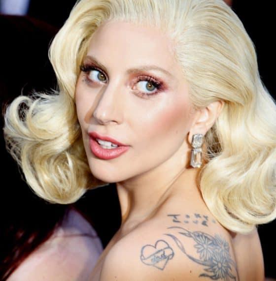 Lady Gaga Posing