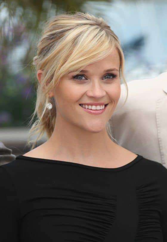 Reese Witherspoon with a Smiling Face