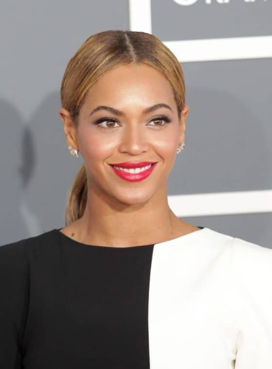 Beyonce at the 2013 Grammys Awards