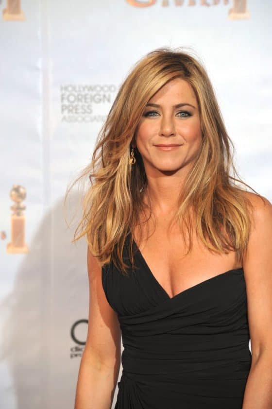 Jennifer Aniston in a Pretty Black Dress