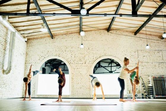 Huge and successful yoga studio