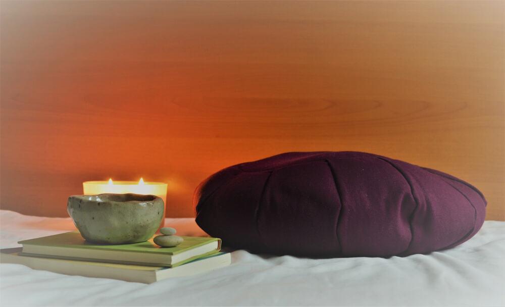 Zafu Pillow Meditation