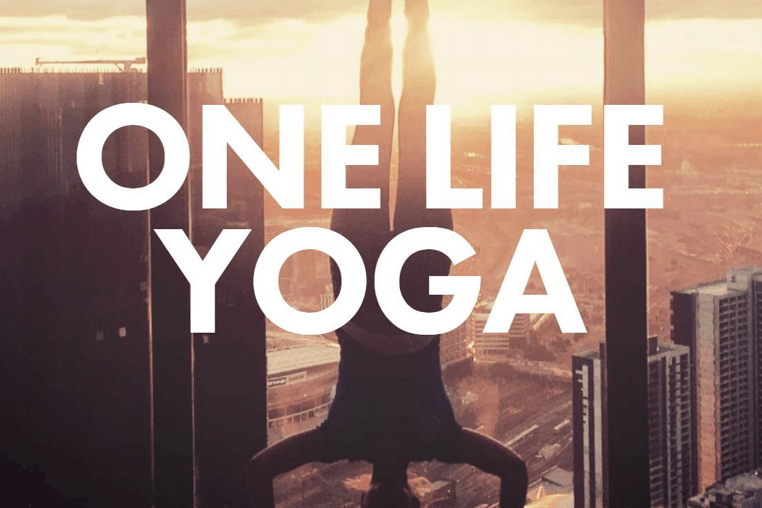 Page d'accueil de One Life Yoga
