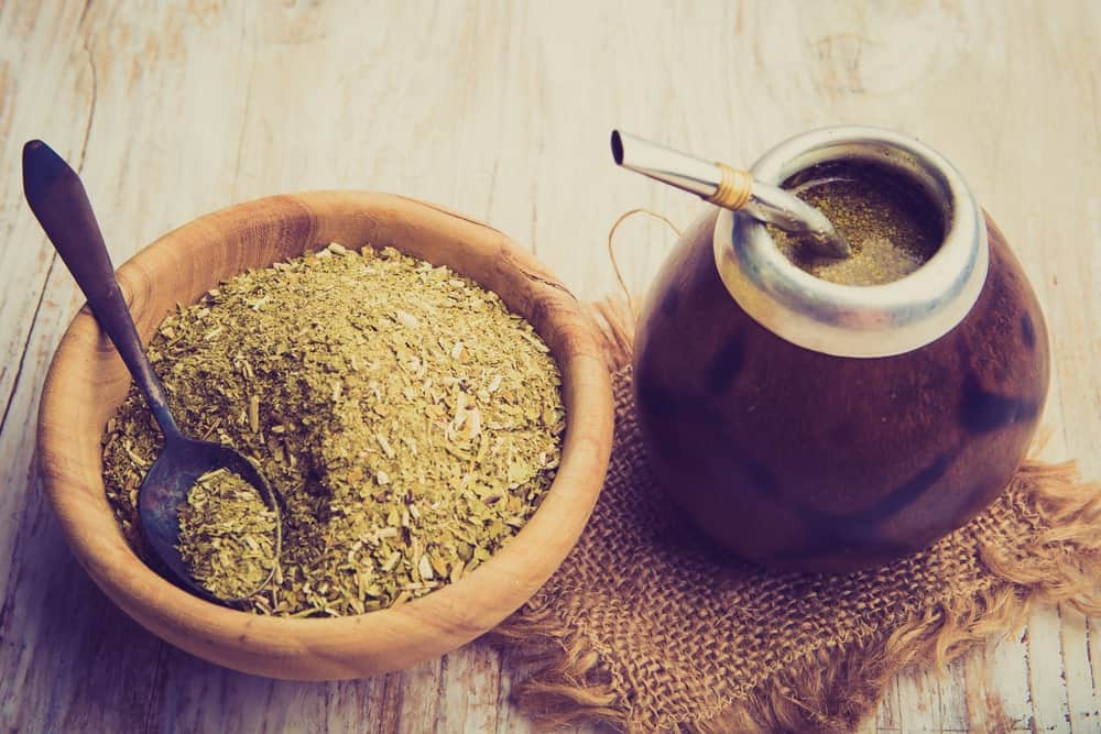 Hot Yerba Mate Tea