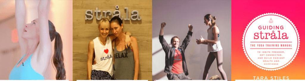 Yoga teacher Tara Stiles