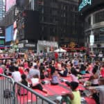 NYC Times Square Community Yoga Class