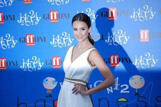 Jessica Alba at Giffoni Film Festival 2012.