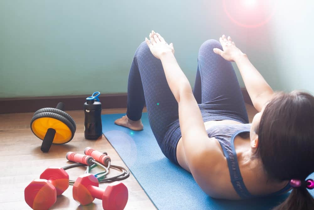 fitness equipment for yoga with weight