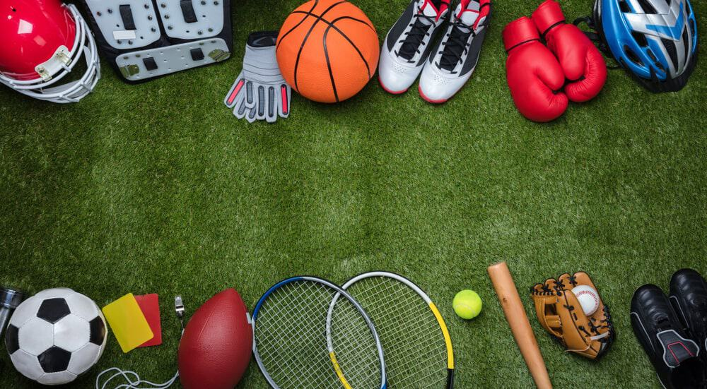 Lots of Sporting Equipment