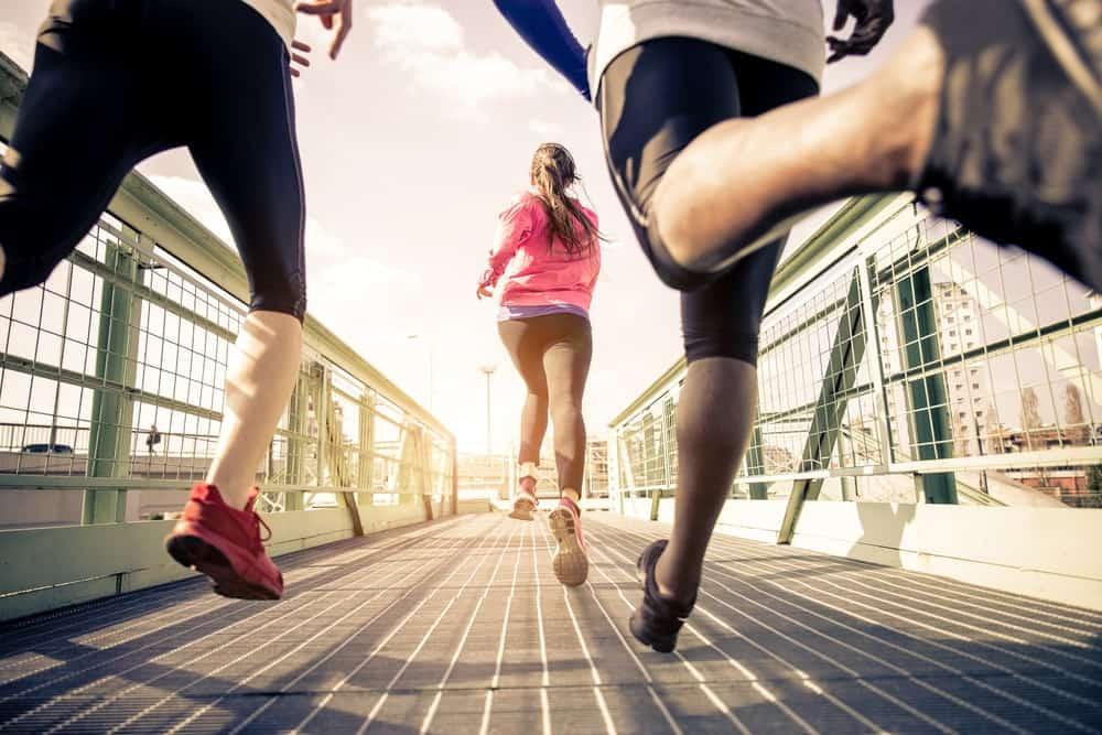 People Running Fast