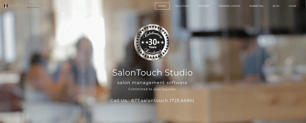 SalonTouch software