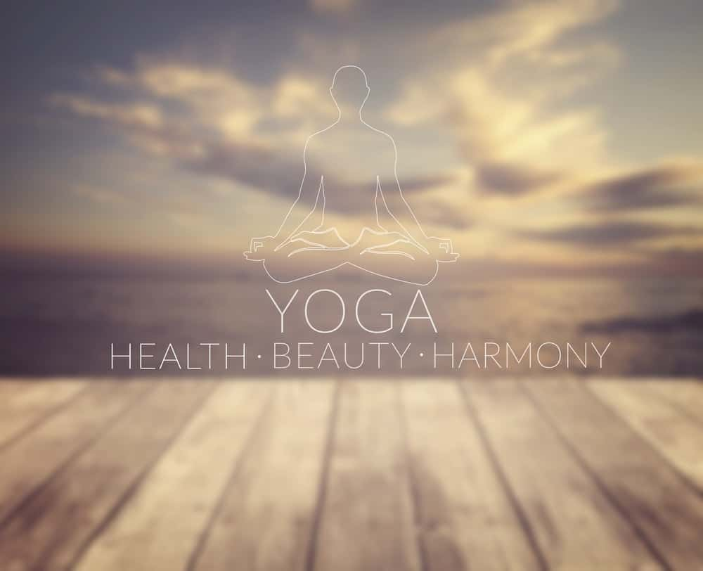 Yoga site poster.