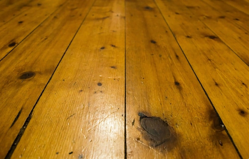 Softwood flooring
