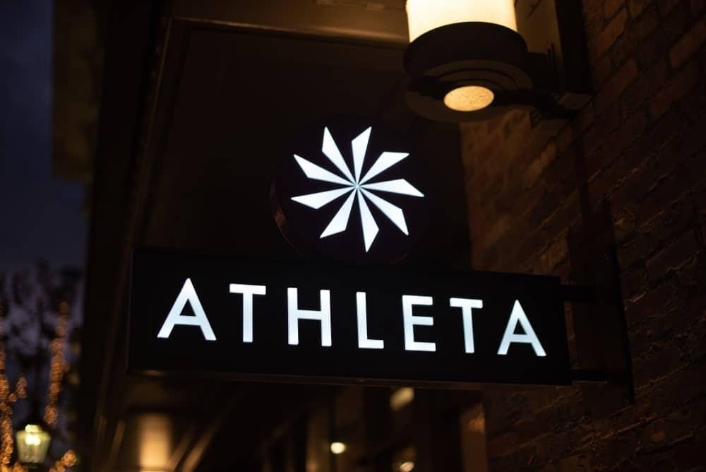 Athleta store sign