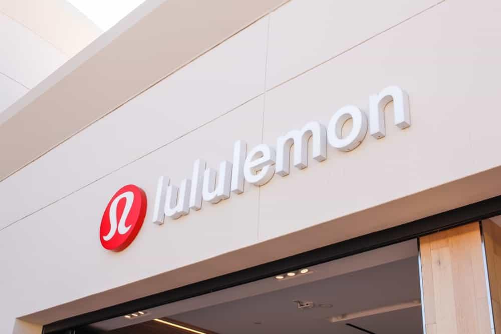 Lululemon store sign