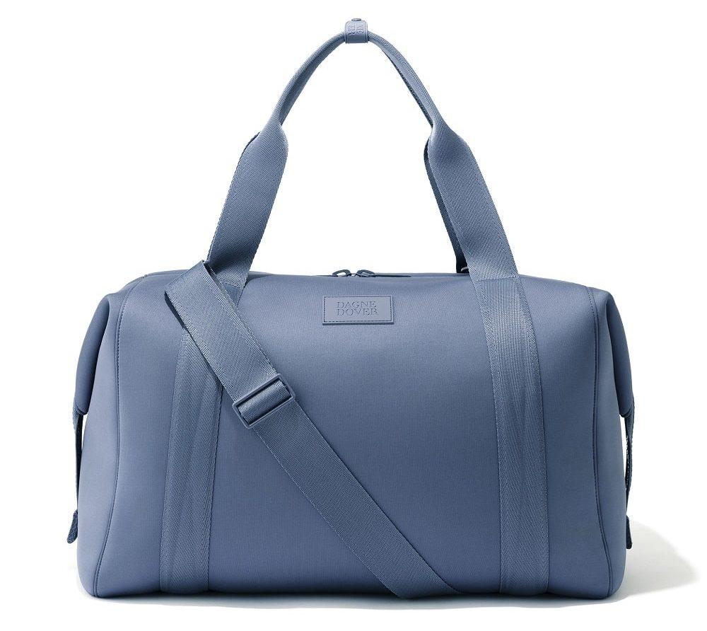 Landon Carryall blue travel bag