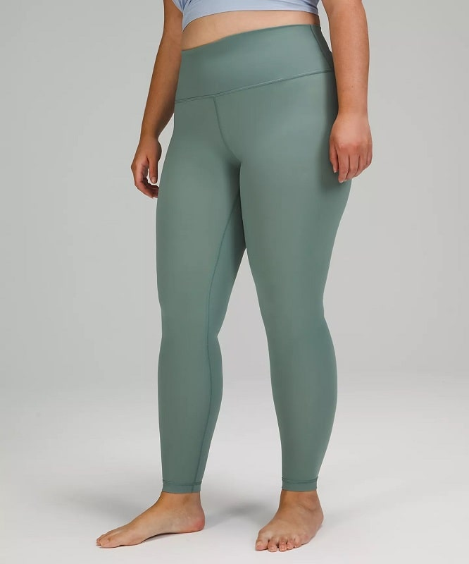 A Wunder Under High-Rise Tight Luxtreme in Tidewater Teal from Lululemon.