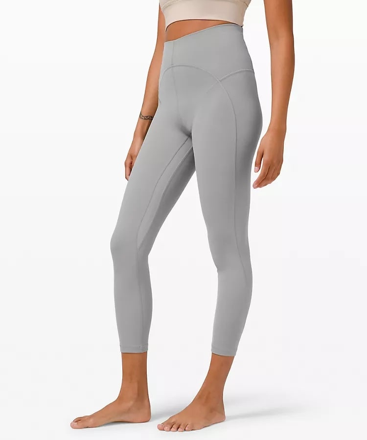 An Unlimit High-Rise Tight in Rhino Grey from Lululemon.